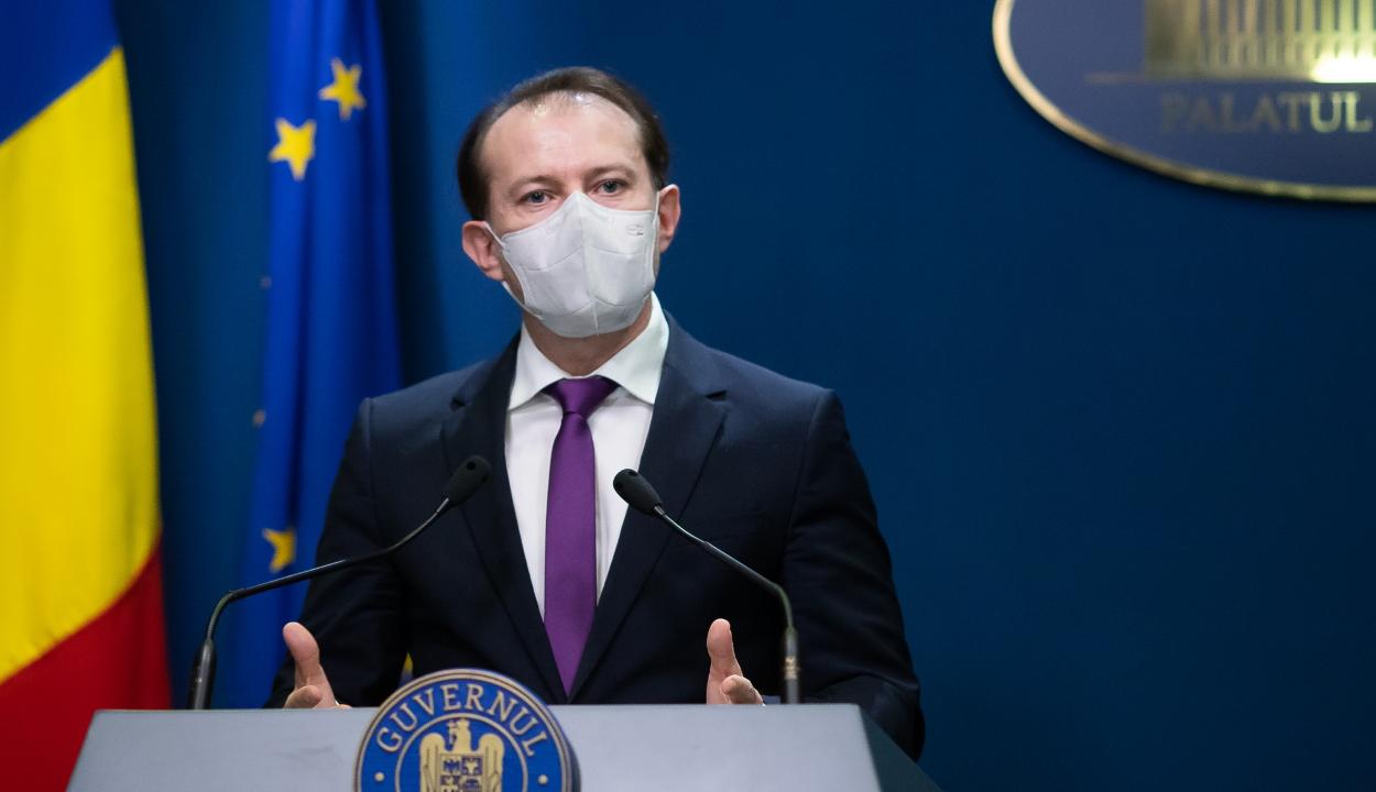 Cîțu: húszezer adag COVID-19 elleni vakcinát küld Románia a Moldovai Köztársaságnak