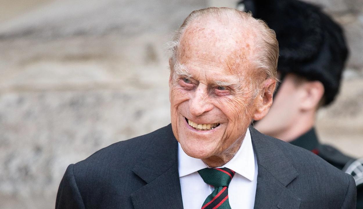 Elhunyt Fülöp herceg, II. Erzsébet királynő férje
