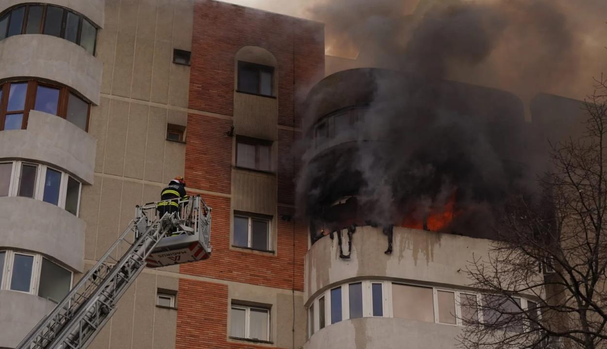Vizsgálatot indított az ügyészség a konstancai tűzesetnél történt tűzoltói beavatkozás ügyében