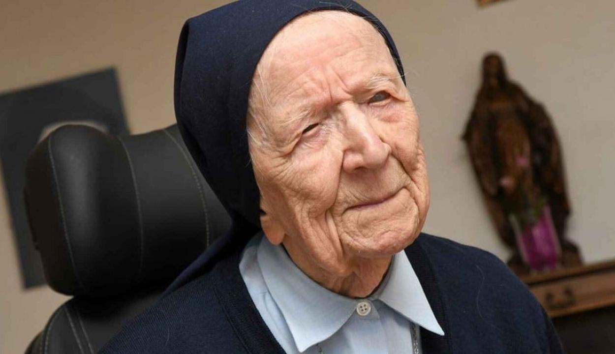 Felépült a koronavírusból Európa legidősebb embere, egy 116 éves apáca