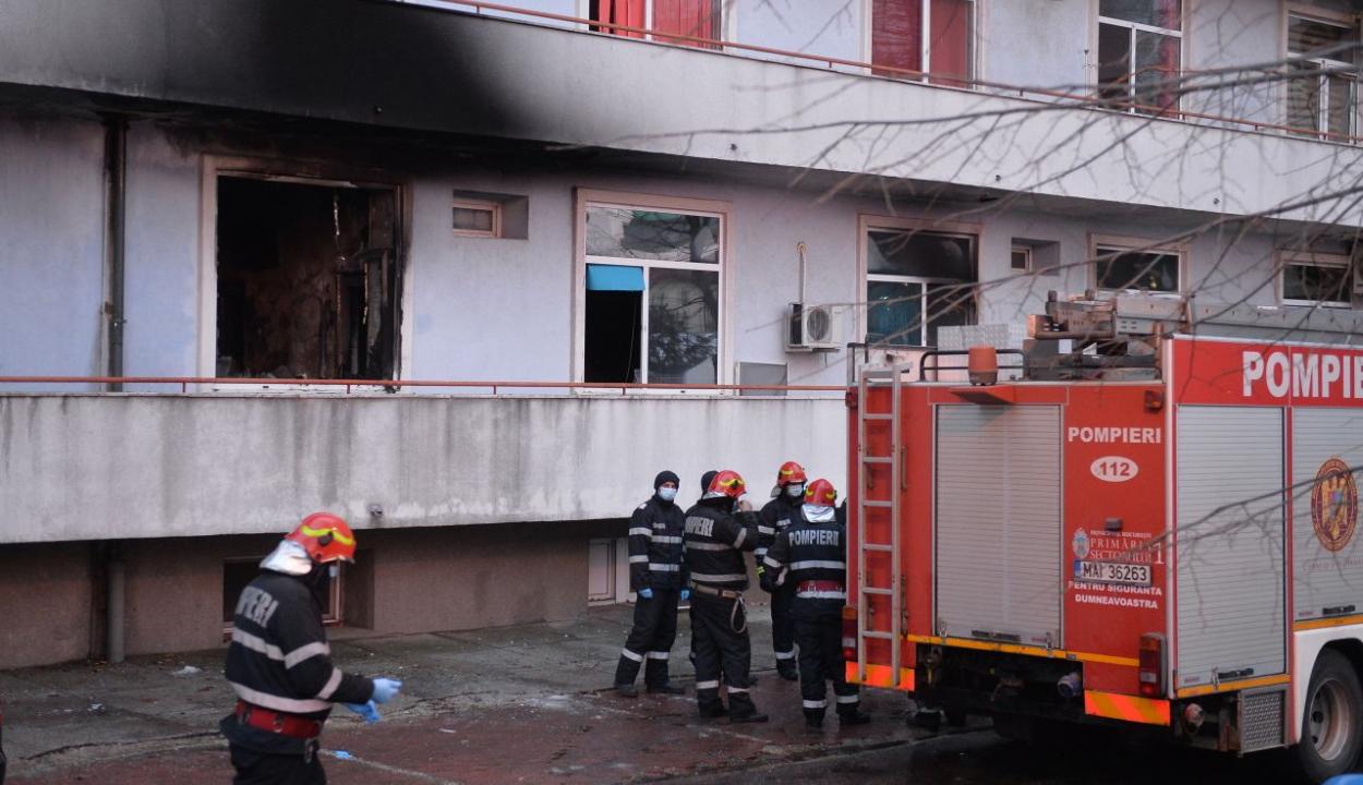 Tűz a Matei Balş intézetnél: meghalt még egy beteg az érintett osztályon kezeltek közül