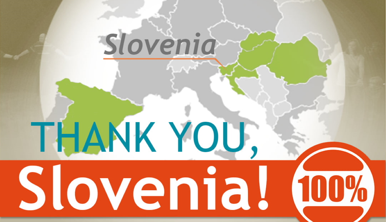 Szlovéniában is összegyűltek az aláírások a nemzeti régiók védelmében