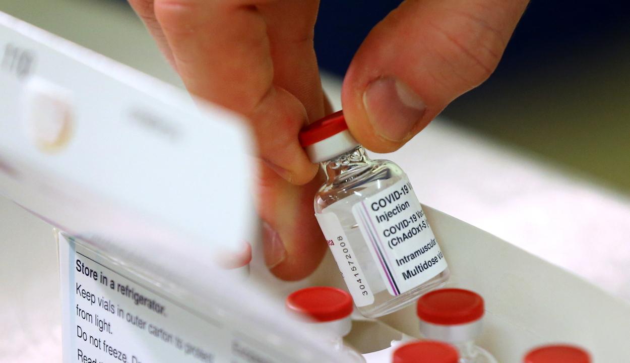 Kilencezer személy mondott le pénteken az AstraZeneca vakcináról