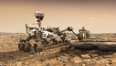 Ezt látja és hallja a Marson a NASA robotja