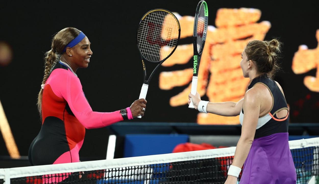 Legyőzte Serena Williams Simona Halepet az Australian Open negyeddöntőjében