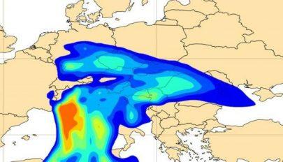 Szaharai eredetű porfelhő éri el Romániát
