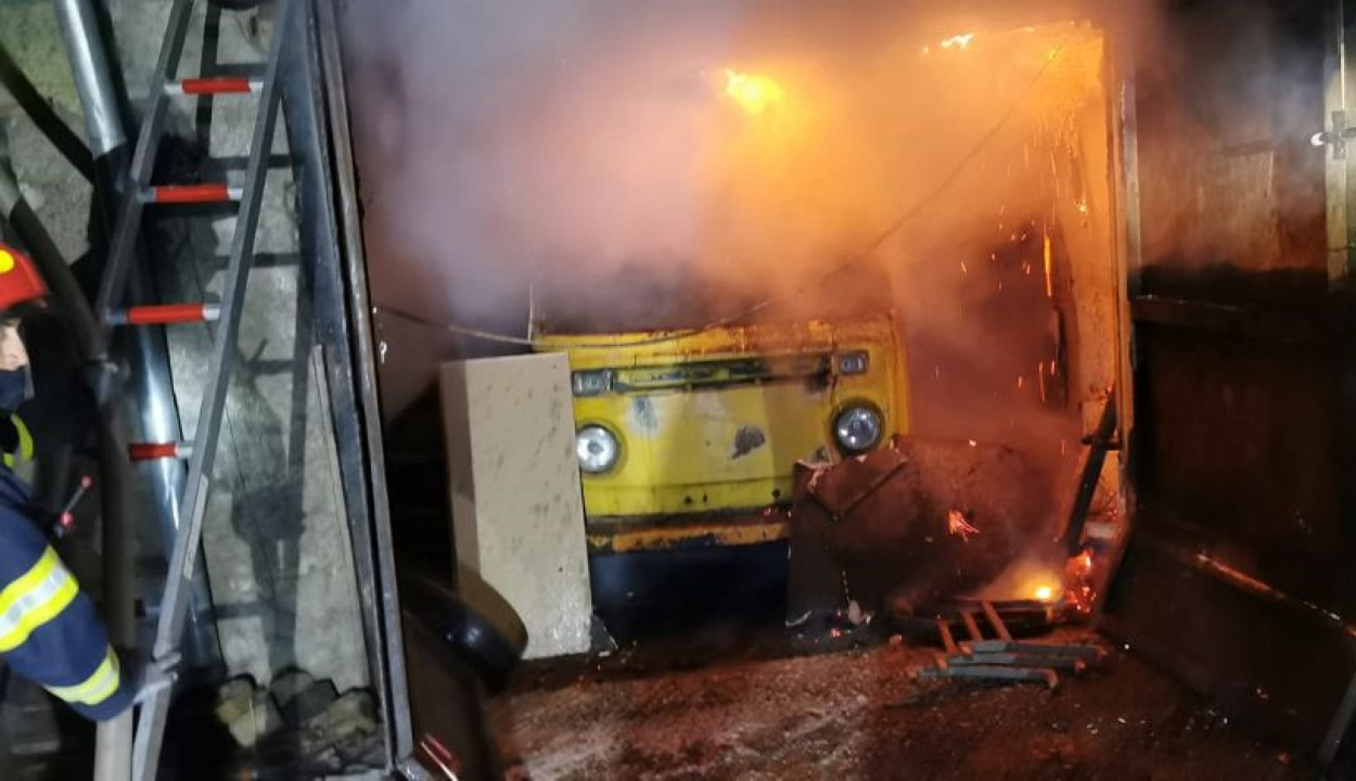 Bent égett egy idős férfi egy szentgyörgyi háztűzben