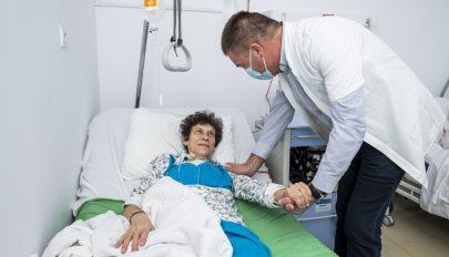 Ritka műtétet végeztek a megyei kórházban