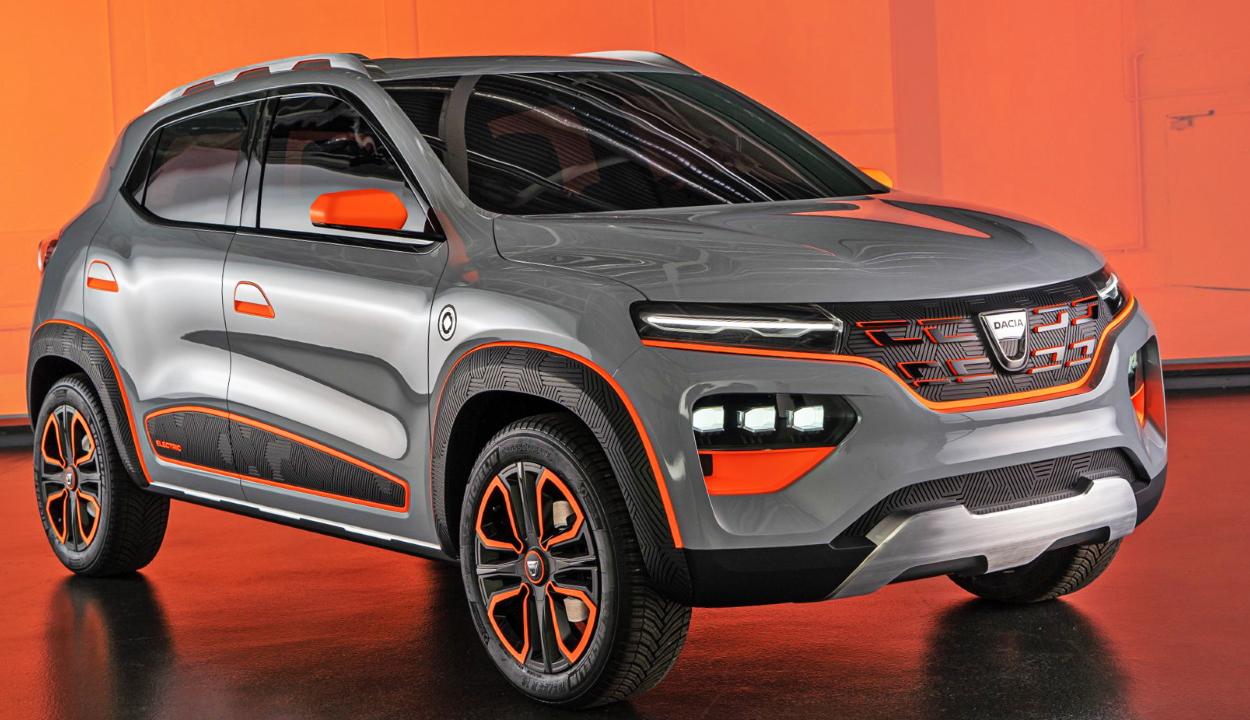 Március 20-ától előjegyzést lehet kérni a Dacia első elektromos modelljére