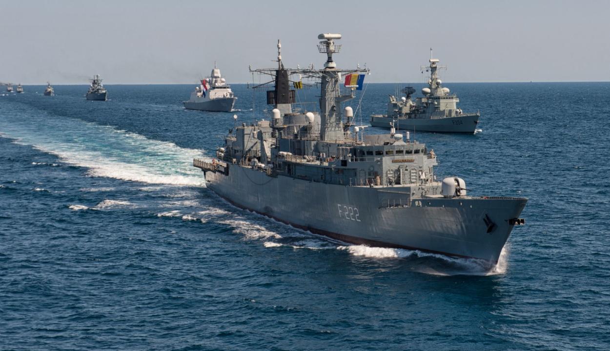 Nagyszabású nemzetközi hadgyakorlat kezdődik pénteken a Fekete-tengeren