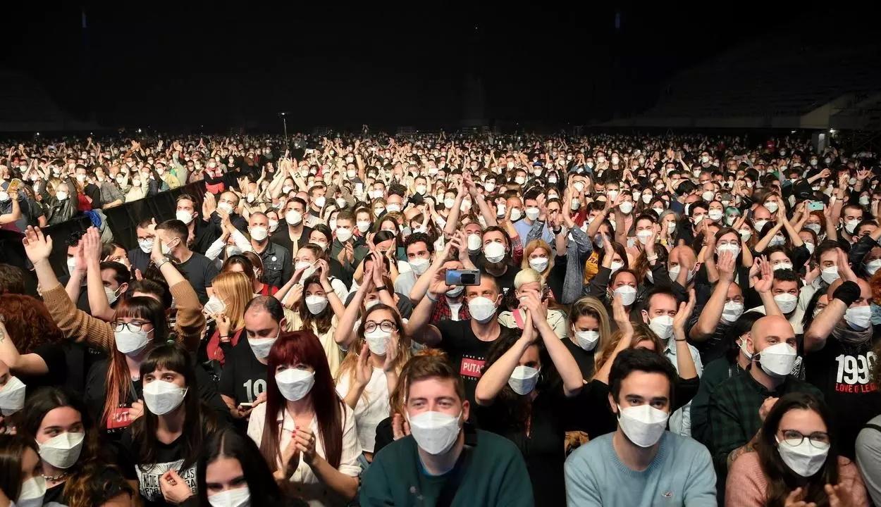 Megvannak a barcelonai 5000 fős kísérleti koncert eredményei