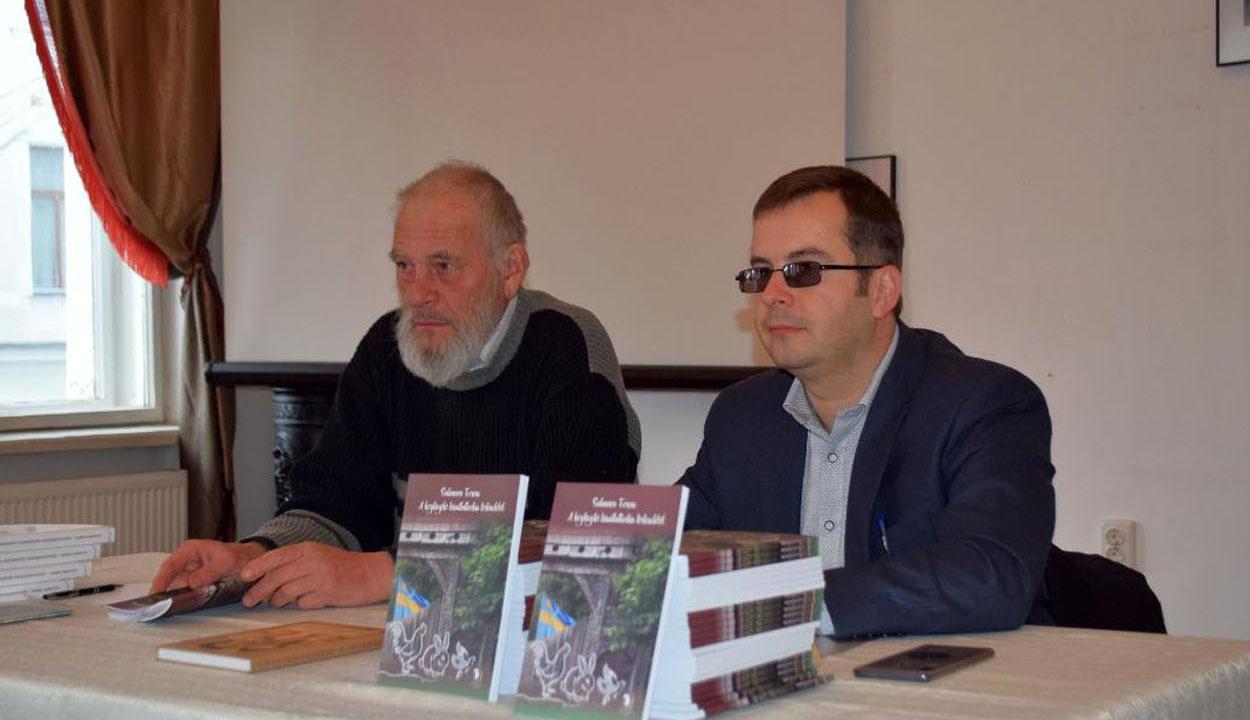 Salamon Ferenc bemutatta könyvét