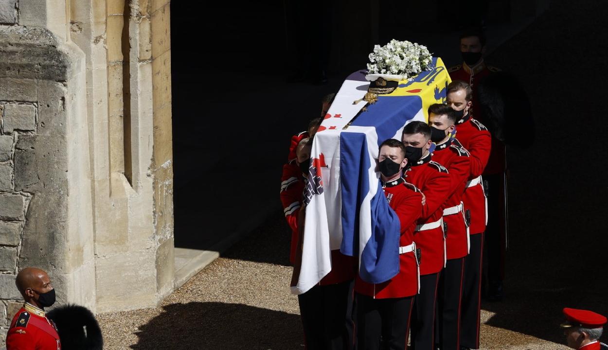 Végső búcsút vettek Fülöp hercegtől