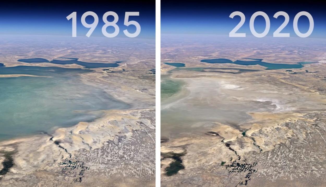 Lenyűgöző videón a Föld elmúlt 37 éve