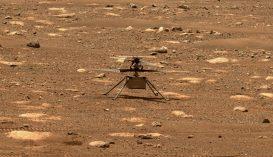 Történelmet írt a NASA: felszállt a Marson egy helikopter