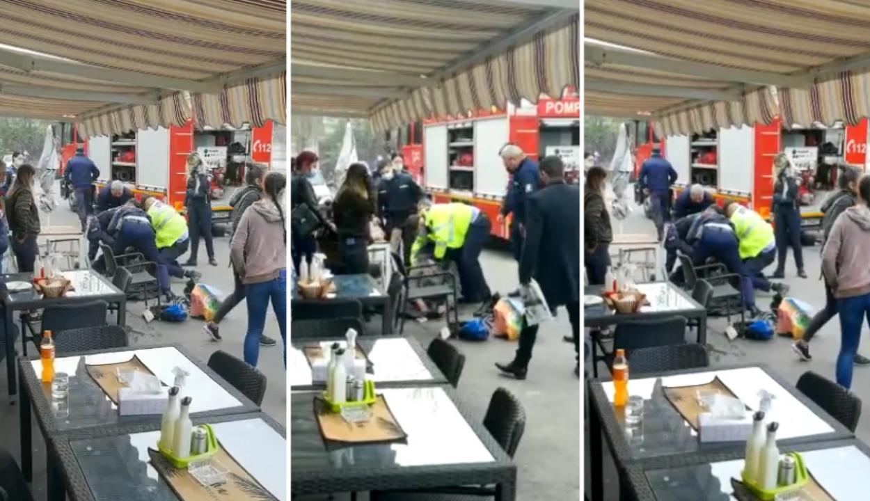 Őrizetbe vettek két rendőrt a Piteşti-en földre tepert férfi halálának ügyében