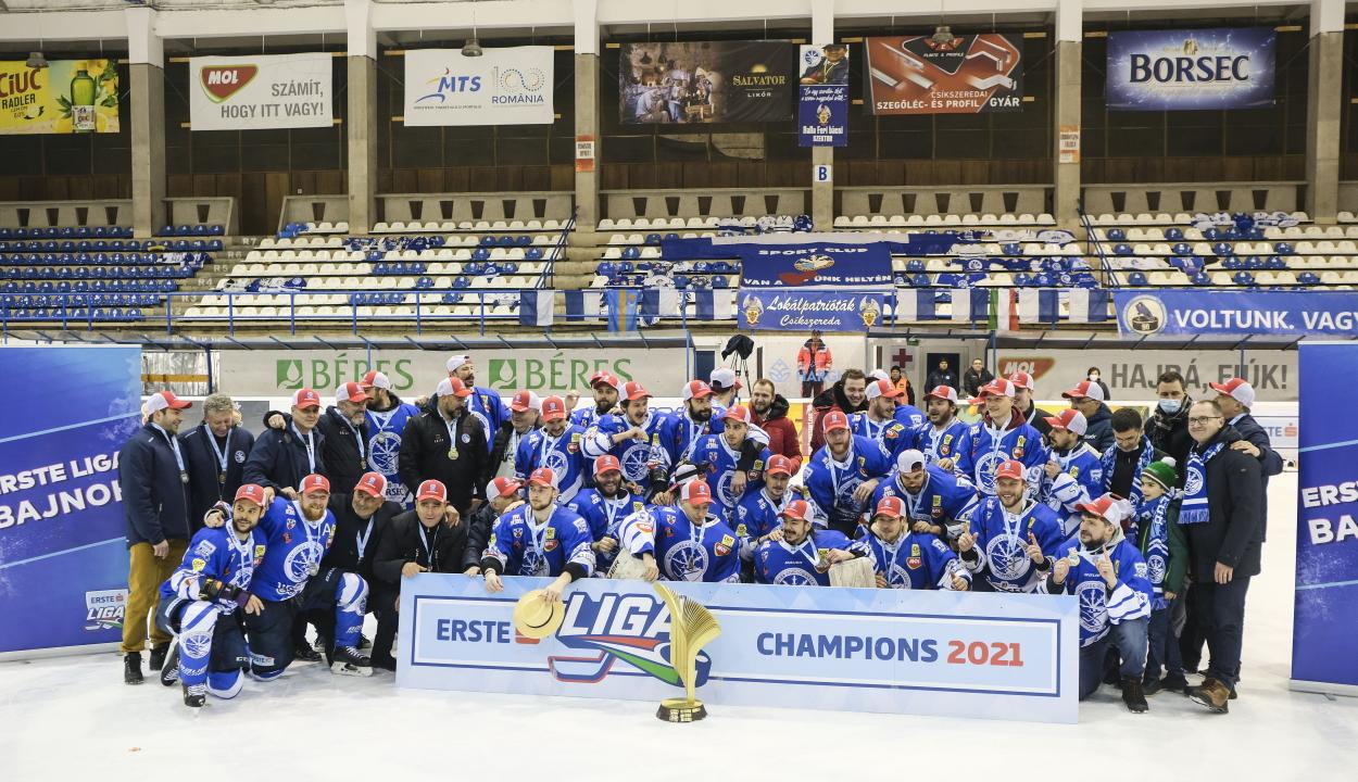 Tíz év után nyerte meg újra az Erste Ligát a Csíkszeredai Sportklub