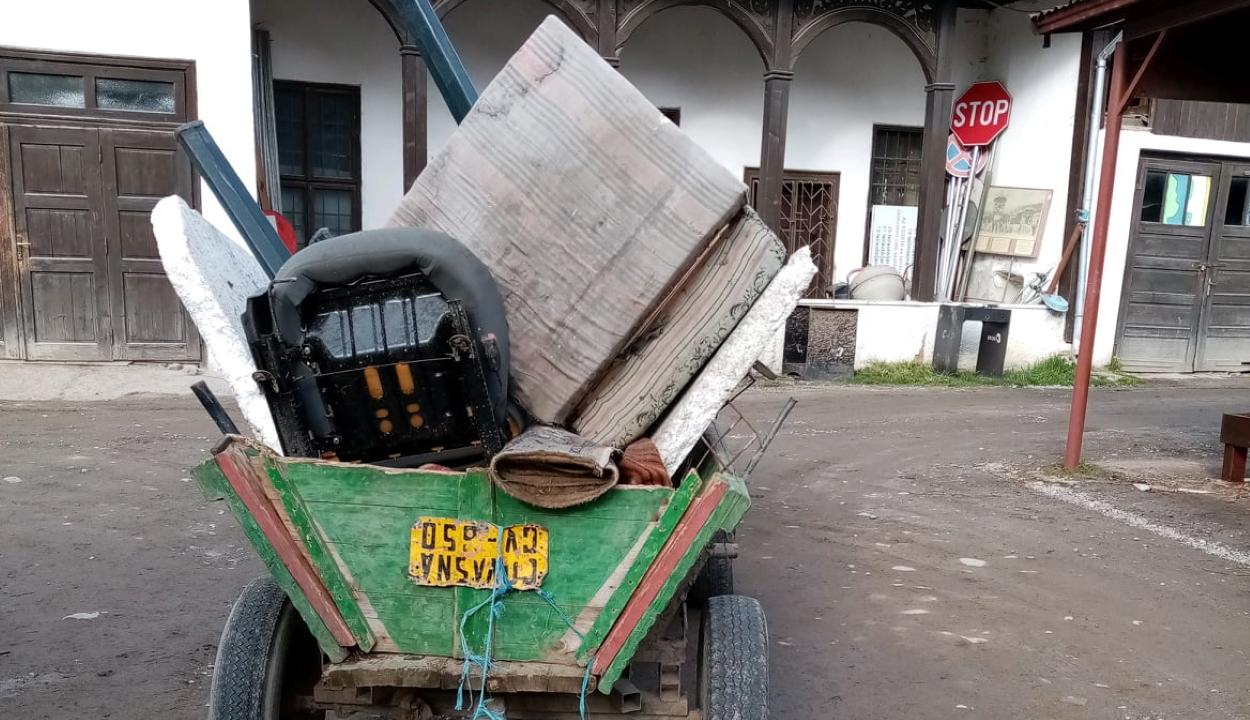 Kovásznai férfit bírságoltak meg illegális szemétszállításért