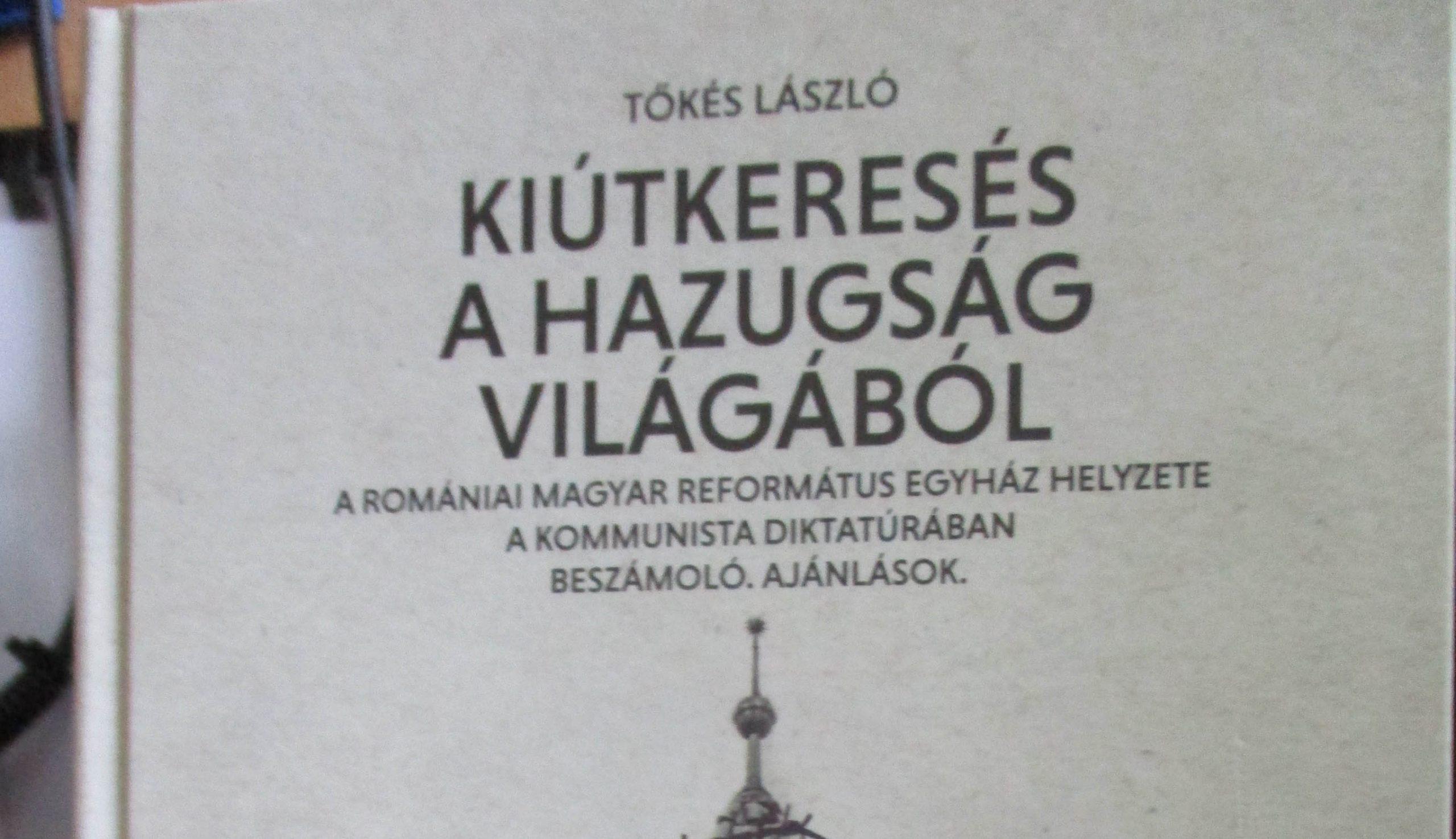Tőkés László legújabb könyve