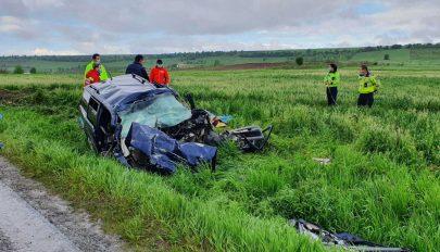Négy baróti férfi halt meg egy Brassó megyében történt balesetben