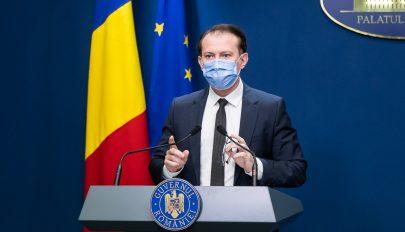 Cîţu: 3 ezrelék alatt akarom tartani a fertőzöttségi rátát