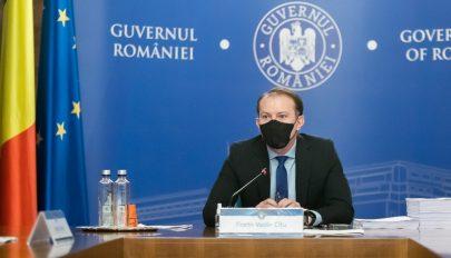 Cîţu: ma meghaladjuk a 3,5 millió beoltott személyt Romániában