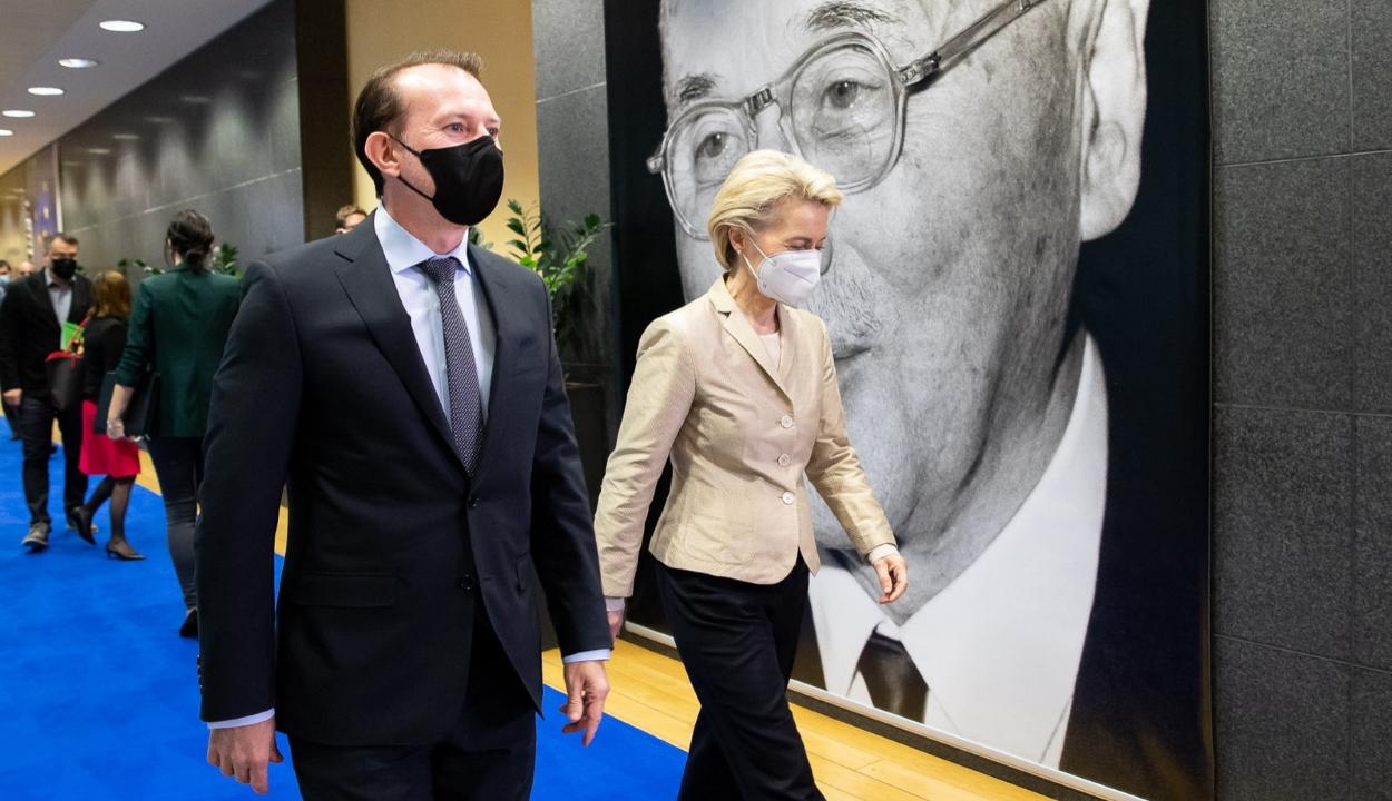Az Európai Bizottság elnökével egyeztetett Florin Cîțu miniszterelnök