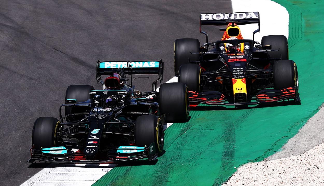 Forma-1: Hamilton nyert Portugáliában