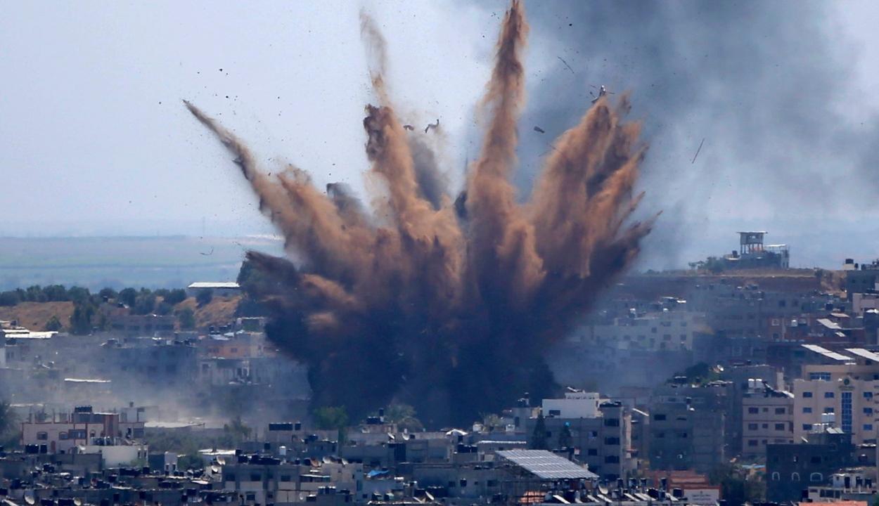 Körülbelül 320-350 román állampolgár van a Gázai övezetben