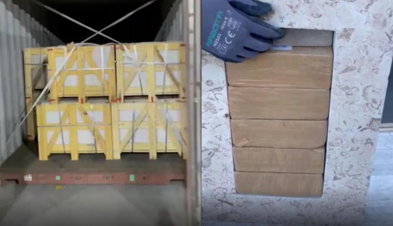 Rekordmennyiségű heroint foglaltak le a konstancai kikötőben
