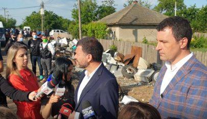 Illegális hulladékégetőkön ütöttek rajta Călărași megyében