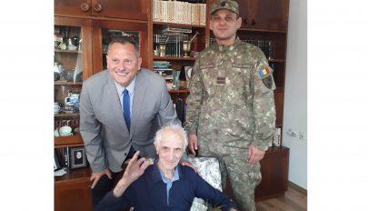 A háborús veterán 102. születésnapja
