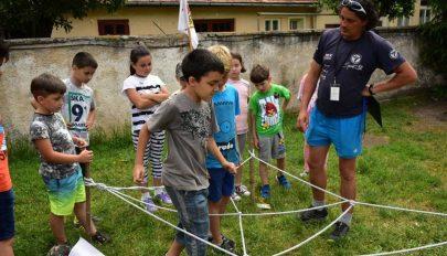 Nappali tábor a Gyermekek Palotájában