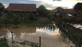 FRISSÍTVE: A megye több pontján okoztak gondot a heves esőzések