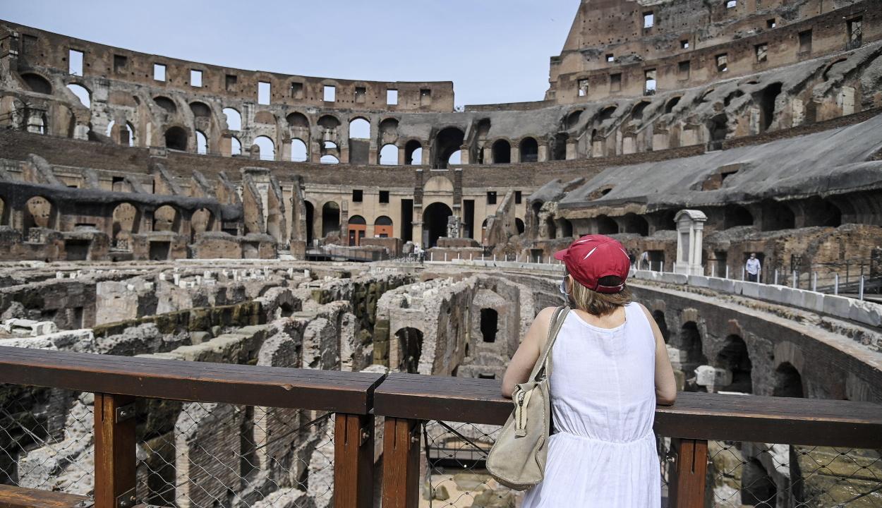 Rendkívüli hőség van Olaszországban
