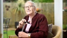 Majdnem egy évig volt koronavírus-fertőzött egy brit férfi