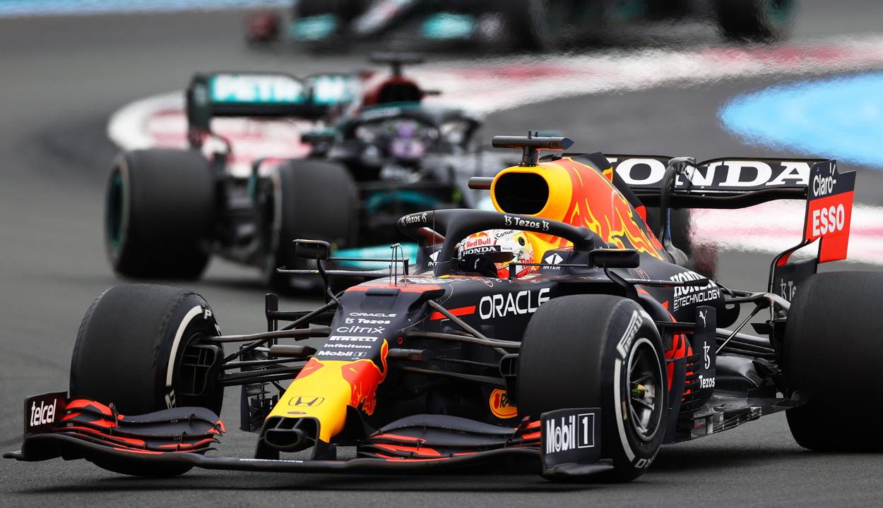 Forma-1: Verstappen nyert Franciaországban és növelte előnyét az összetettben