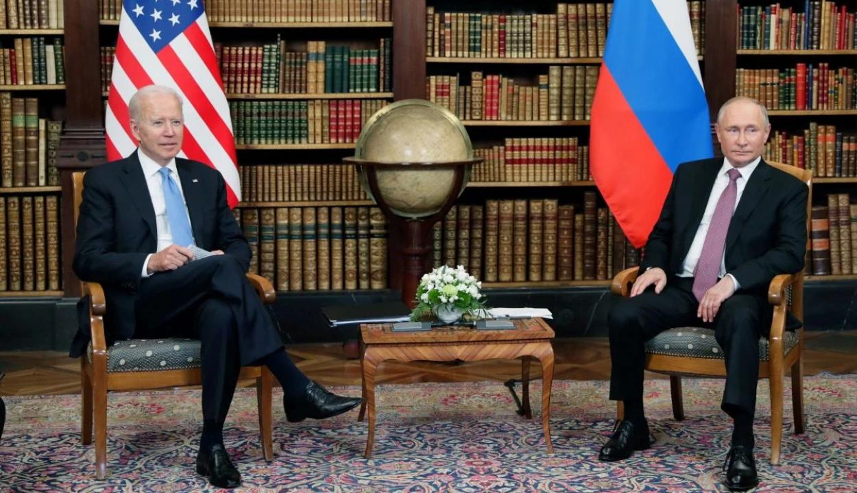 FRISSÍTVE: Megkezdődött Joe Biden és Vlagyimir Putyin találkozója Genfben
