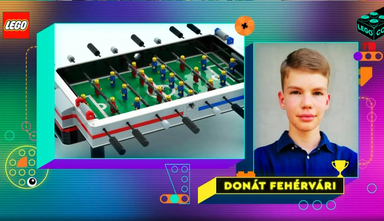 Magyar fiatal tervéből készül az új LEGO-készlet