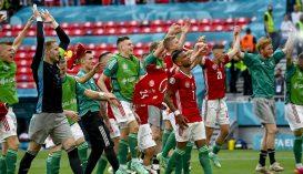EURO 2020: Döntetlent játszottak a magyarok a világbajnok franciákkal