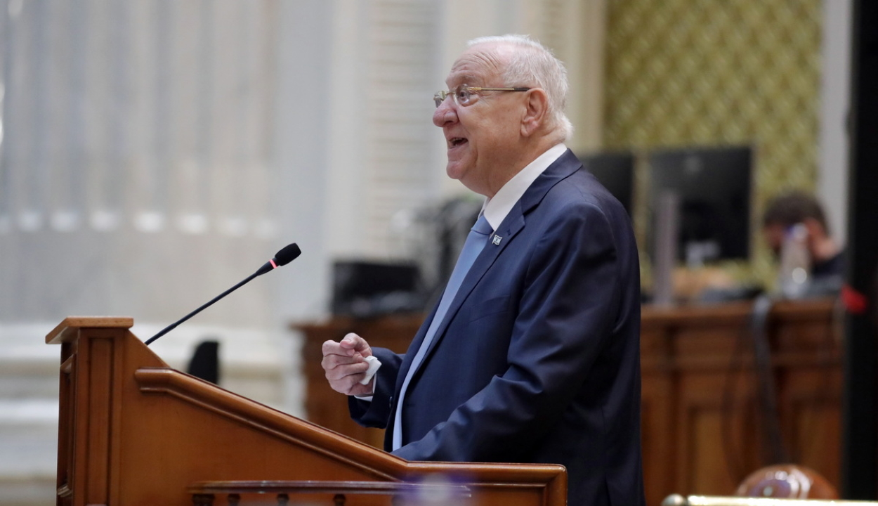 Izrael elnöke: Románia ma igaz barátja Izraelnek az antiszemitizmus elleni harcban