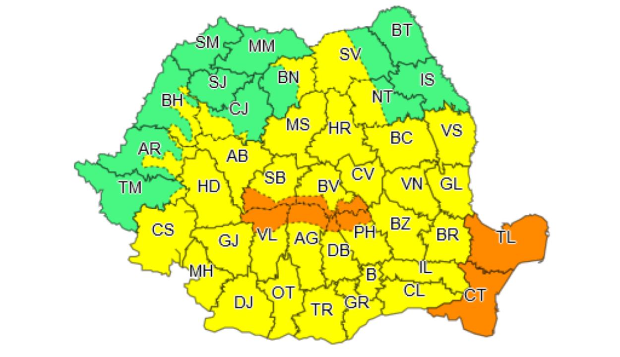 Újabb riasztások: országszerte esők várhatók