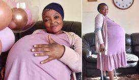 Tíz gyermeket szült egyszerre egy dél-afrikai nő?