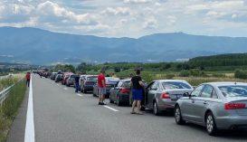 Torlódások vannak a Bulgária és Görögország közötti határátkelőknél