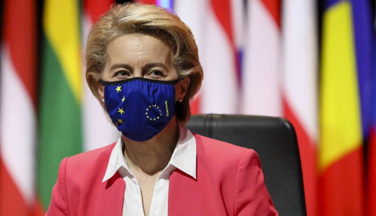 Von der Leyen: az EU-ban a felnőttek 57 százaléka kapott már legalább egy adag oltást
