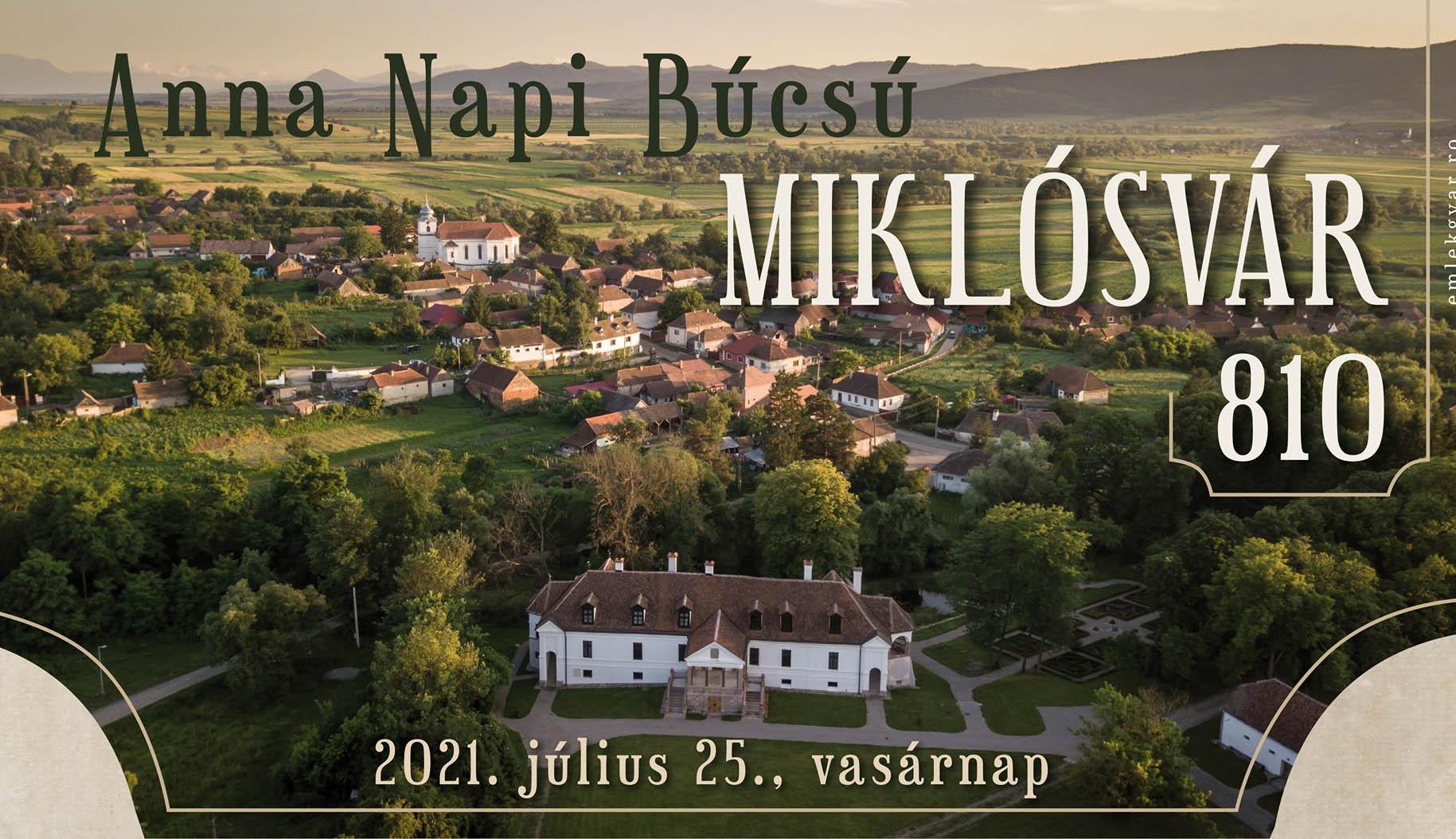 Miklósvár 810 éves