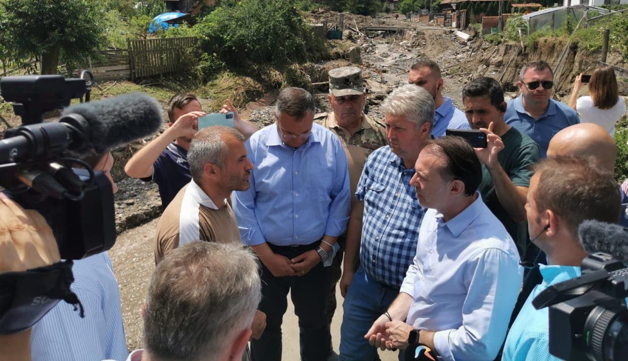 Cîţu: fix összegű támogatásban részesülnek a Fehér megyei árvízkárosultak