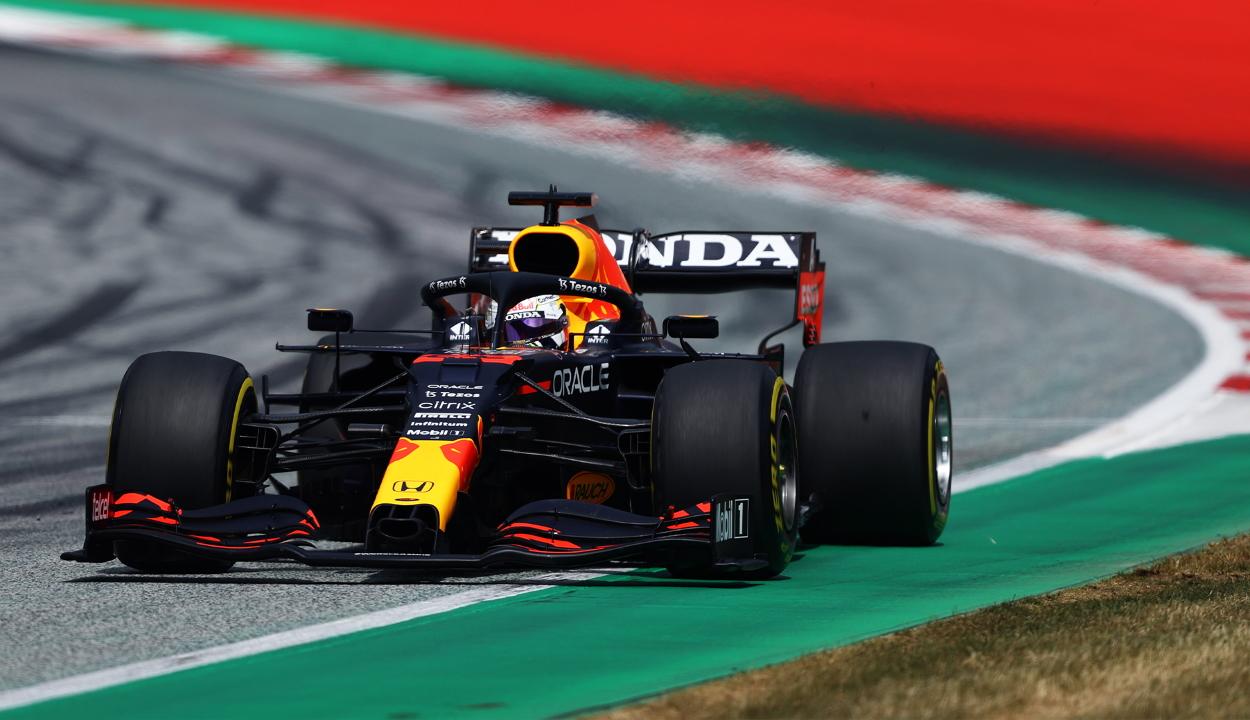 Forma-1: Verstappen rajt-cél győzelmet aratott az Osztrák Nagydíjon