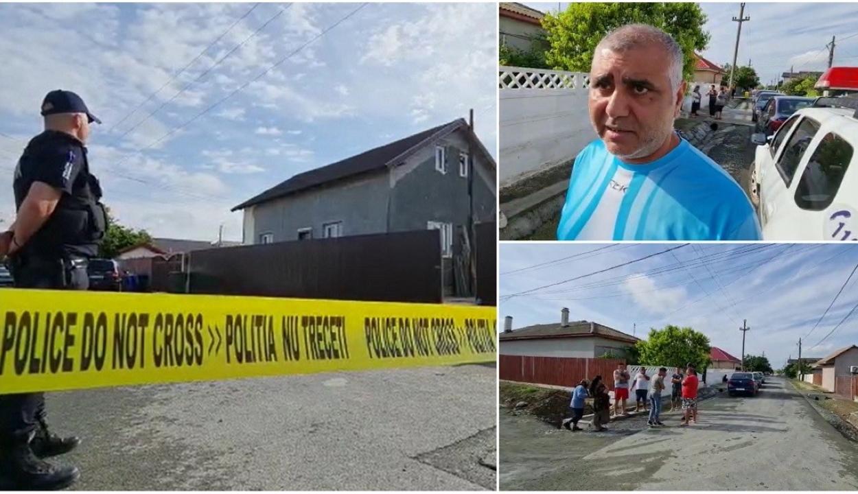 Gyilkosság Konstanca megyében: a tettes megölt egy férfit és megerőszakolta a lányát