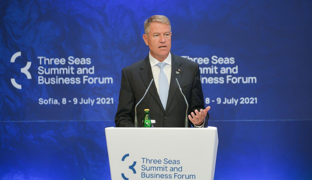 Iohannis: Románia továbbra is szilárdan elkötelezett a Három Tenger Kezdeményezés mellett